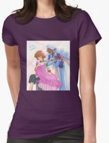 Voltron - Allura & Pidge Womens Fitted T-Shirt