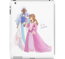 Voltron - Allura & Pidge iPad Case/Skin