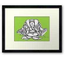 """Alford """"Ganesha""""  Framed Print"""