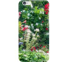 Backyard Blossoms iPhone Case/Skin
