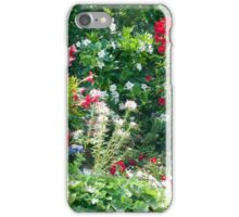 Backyard Blossoms iPhone Case/Skin