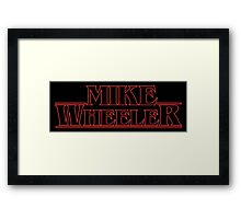 MIKE WHEELER BEST FRIENDS! Framed Print