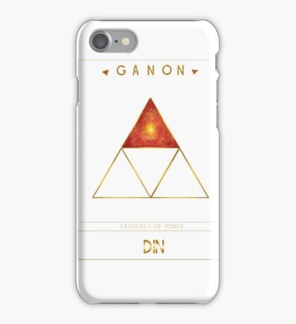 Triforce Designs - Din's Power Edition iPhone Case/Skin