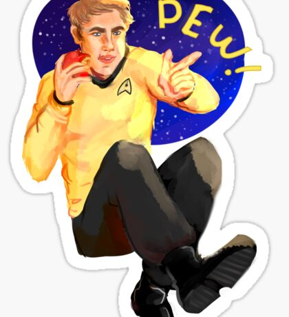 This is your captain doing cool stuff! Sticker
