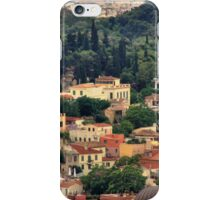 Colourful Buildings Surrounded by Trees iPhone Case/Skin