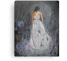 She Was More Than You Imagined Canvas Print
