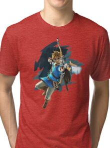 Link Breath of the Wild Tri-blend T-Shirt