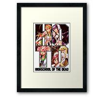 HOTD Girls Framed Print