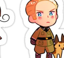 Hetalia Axis Stickers Sticker