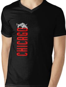 One Night in Chicago  Mens V-Neck T-Shirt