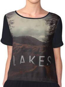 Seeing the woods through the trees Chiffon Top