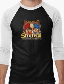 Stratego (clean) Men's Baseball ¾ T-Shirt