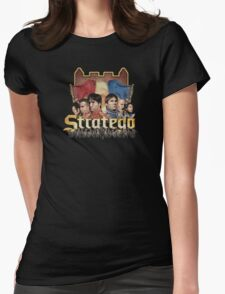 Stratego (distressed, faded) Womens Fitted T-Shirt