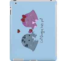 Quaggan loves you! iPad Case/Skin