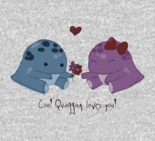 Quaggan loves you! One Piece - Long Sleeve