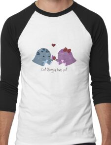 Quaggan loves you! Men's Baseball ¾ T-Shirt