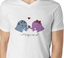 Quaggan loves you! Mens V-Neck T-Shirt