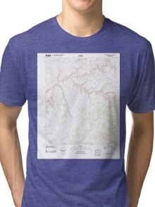 USGS TOPO Map Arizona AZ Red Willow Spring 20111109 TM Tri-blend T-Shirt
