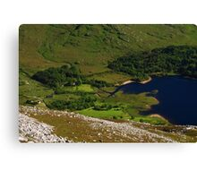 Dunlewy From Errigal Canvas Print