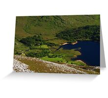 Dunlewy From Errigal Greeting Card