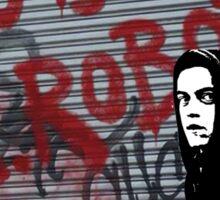 Mr Robot - Who's Mr Robot Sticker