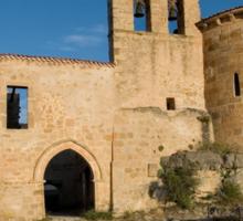 Hermitage of San Frutos Sticker