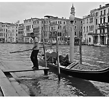 Venetian Morning (1) Photographic Print