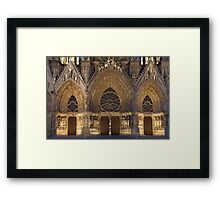 Cathedral of Reims Framed Print