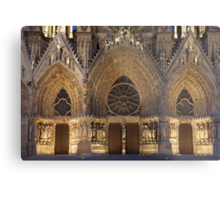 Cathedral of Reims Metal Print