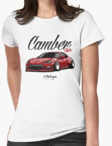 Camber Style BRZ (red) Womens Fitted T-Shirt