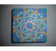 Calming mandala Photographic Print