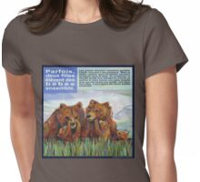 Mamans ours (Le grizzli) Womens Fitted T-Shirt