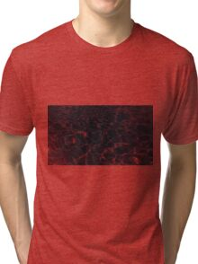 Pool Water - Red Tri-blend T-Shirt