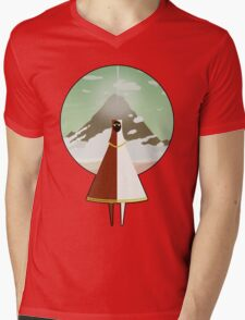 Journey Mens V-Neck T-Shirt