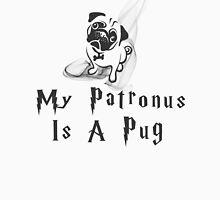 Pug Patronus Womens Fitted T-Shirt