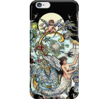 The Illustrated Alphabet Capital S (Fuller Bodied) iPhone Case/Skin