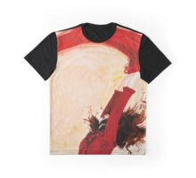 Red Scarf Graphic T-Shirt