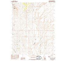 USGS TOPO Map Arizona AZ Red Pockets 313067 1985 24000 Photographic Print