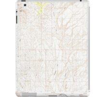 USGS TOPO Map Arizona AZ Red Pockets 313067 1985 24000 iPad Case/Skin