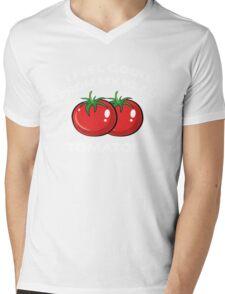 I Feel Good From My Head Tomatoes Mens V-Neck T-Shirt