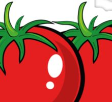 I Feel Good From My Head Tomatoes Sticker