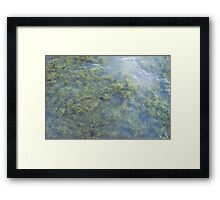 Nothing Clever Framed Print