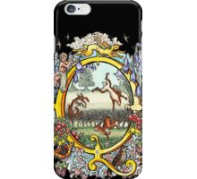 The Illustrated Alphabet Capital Q (Fuller Bodied) iPhone Case/Skin