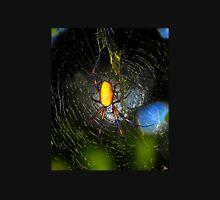 Golden Orb Spider in web Unisex T-Shirt