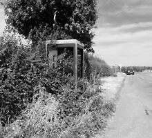 Rural Telephone Box by RedSteve
