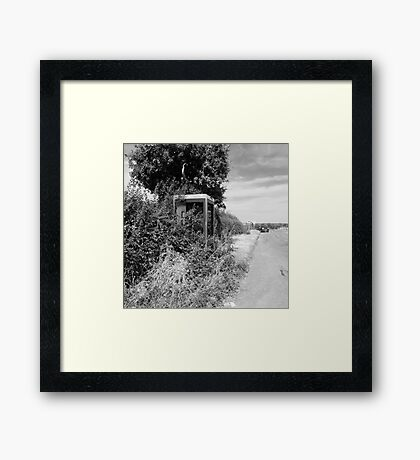 Rural Telephone Box Framed Print