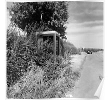 Rural Telephone Box Poster