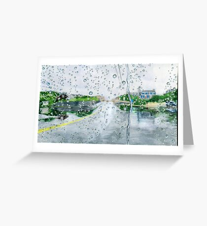 The Coming Storm Greeting Card
