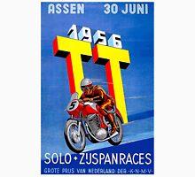 """ASSEN TT MOTORCYCLE"" Vintage Racing Advertising Print Unisex T-Shirt"