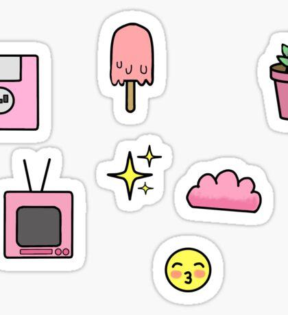 Kawaii sticker sheet Sticker